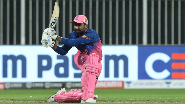 Rahul Tewatia's rearguard acts for Rajasthan Royals left an indeible mark on IPL 2020. SportzPics