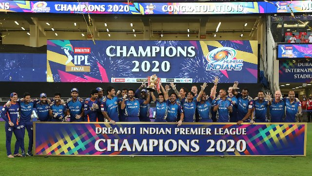 Rohit Sharma led from the front, scoring 68 off 51 balls, as Mumbai Indians clinched their unprecedented fifth IPL title with a five-wicket win over Delhi Capitals in the IPL 2020 final. Sportzpics