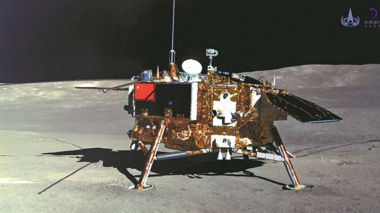 China is drawing up plans for the fourth phase of its moon exploration programme. Image: Xinhua/CNES