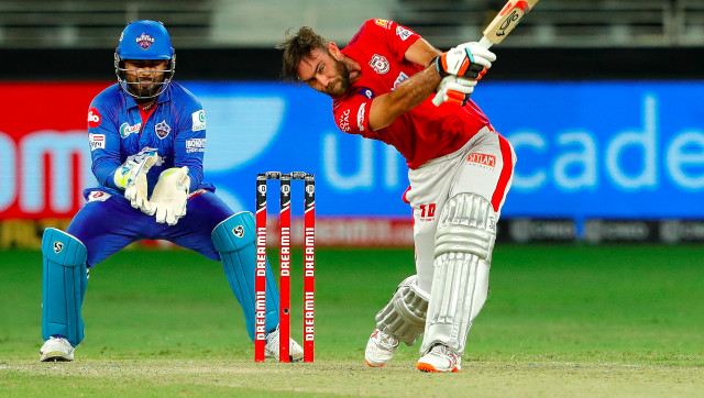 Glenn Maxwell's only innings of note this season was his 32 that helped Kings XI Punjab beat Delhi Capitals by five wickets. Sportzpics