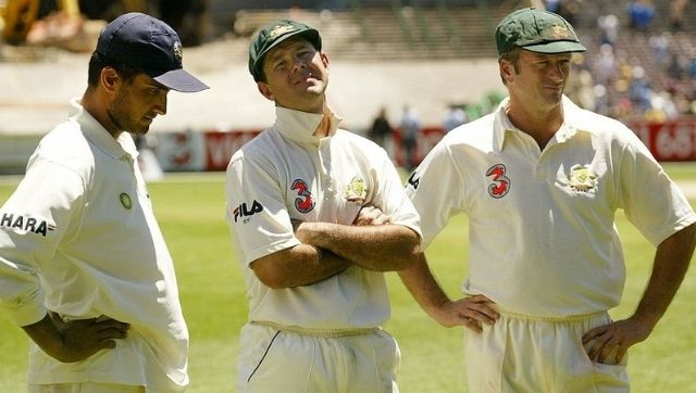 Sourav Ganguly, Ricky Ponting and Steve Waugh. Facebook/maharajerdarbare