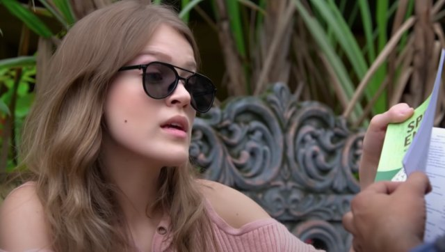 India Jarvis plays an American tourist called Catherine Stevens