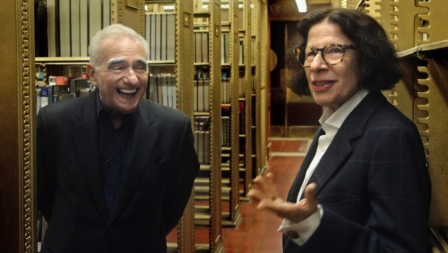 Martin Scorsese and Fran Lebowitz