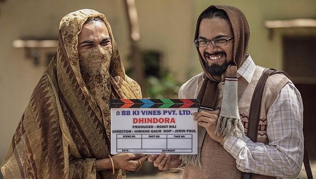 Bhuvan Bam has started shooting for Dhindora, his debut feature film that he is producing