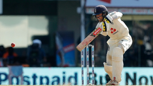 Ben Foakes top-scored for England, scoring 42 runs and consuming as many as 107 balls in the first innings. Barring him, the remaining batting line up failed to make any sort of impact as the hosts were bundled out for 134. Sportzpics