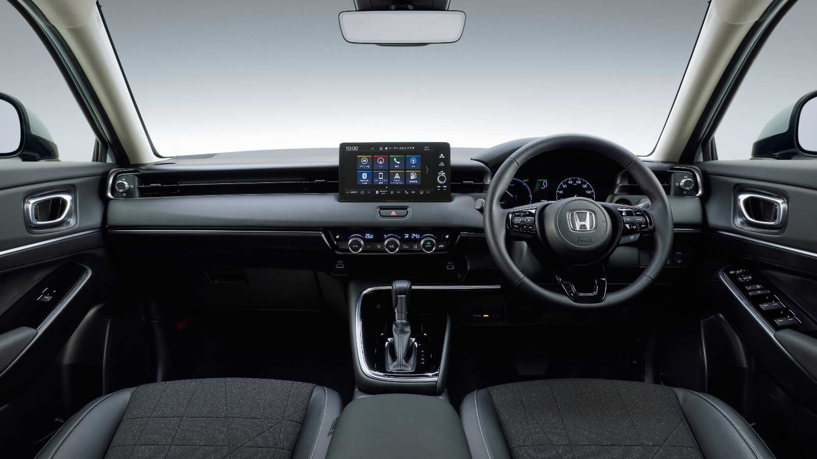 Floating 8.0-inch touchscreen takes centre stage on the new Honda HR-V's dashboard. Image: Honda