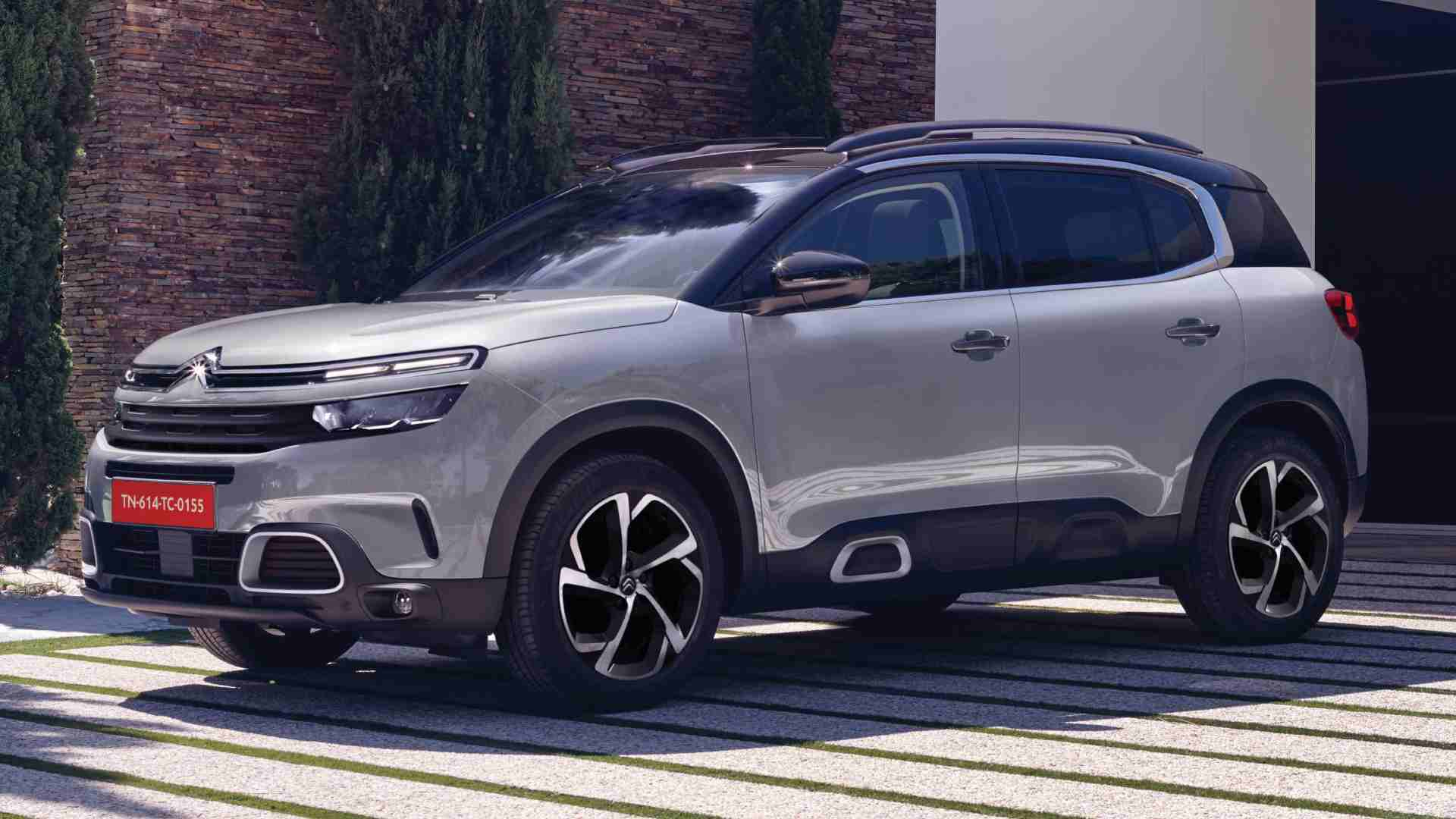 The Citroen C5 Aircross' price in India goes up to Rs 31.90 lakh (introductory, ex-showroom, Delhi). Image: Citroen