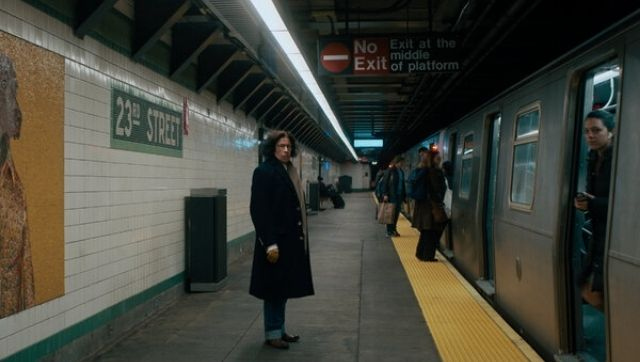 Fran Lebowitz in a still from Pretend It's a City. Image from Twitter