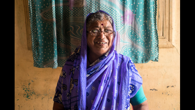 "Vatsala Bandgar has consistently helped Appasso fight for his cause. ""We should first help others and then think about ourselves,"" she says."
