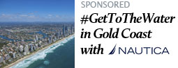 #GetToTheWater in Gold Coast with Naut