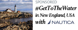 #GetToTheWater in New England, USA with Nautica
