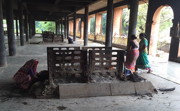 Ashes to ashes: Matang women sift through funeral pyres to earn their livelihood; it's killing them